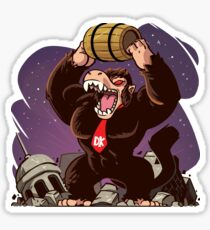 Dragon Donkey Kong Ball Sticker