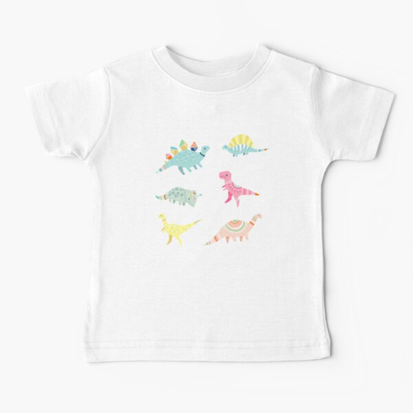 Dinosaur Pattern Baby T-Shirt
