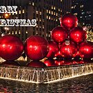 Christmas On 5th Avenue Manhattan 2 by Steve Purnell