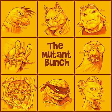 The Mutant Bunch by stayunspoiled