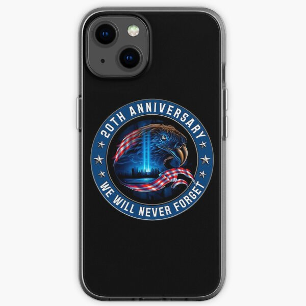 We Will Never Forget 911 American Eagle Usa Flag Shirt iPhone Soft Case