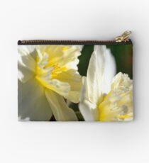 White Daffodils Studio Pouch