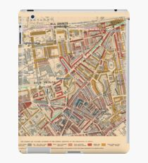 Booth's Map of London Poverty for Brompton & Hans Town ward, Westminster iPad Case/Skin