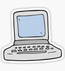 cartoon old computer Sticker
