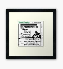 Cartoon : Gorillas Gone Wild Framed Print