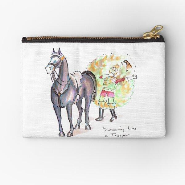 The Joy of Horses Zipper Pouch