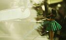 Dashboard Hula Dancer by John Ayo