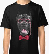 Hipster dog Cane Corso Classic T-Shirt