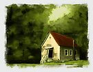 """""""Country Church 2""""... prints and products by © Bob Hall"""