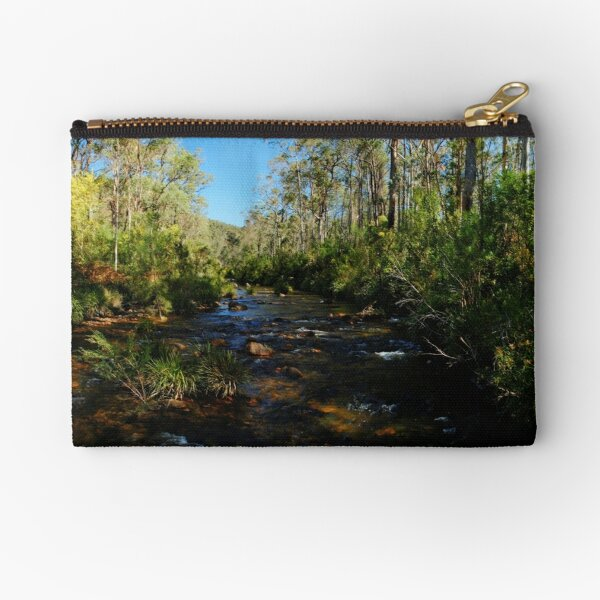 Greave's Creek, Grose Valley, NSW. Zipper Pouch