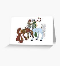Hijack Centaurs Greeting Card