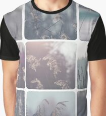 Collage of winter images  Graphic T-Shirt