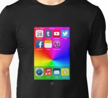 The All New iPhone - with colored background Unisex T-Shirt