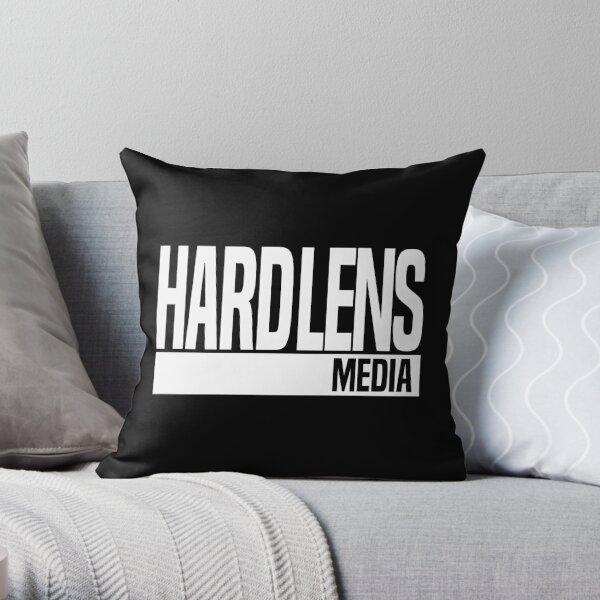 Hard Lens Media DarkMode Throw Pillow