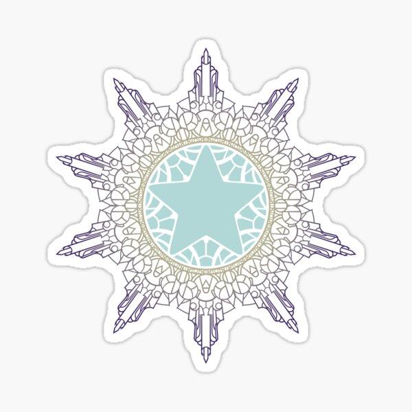 Star Mandala Sticker