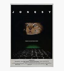 JONESY - ALIEN FILM POSTER Photographic Print