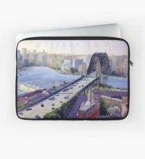 Sydney Harbour to the West Laptop Sleeve