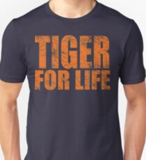 Tiger for Life -Navy and Orange T-Shirt
