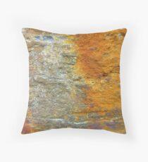 Iron Rust Throw Pillow