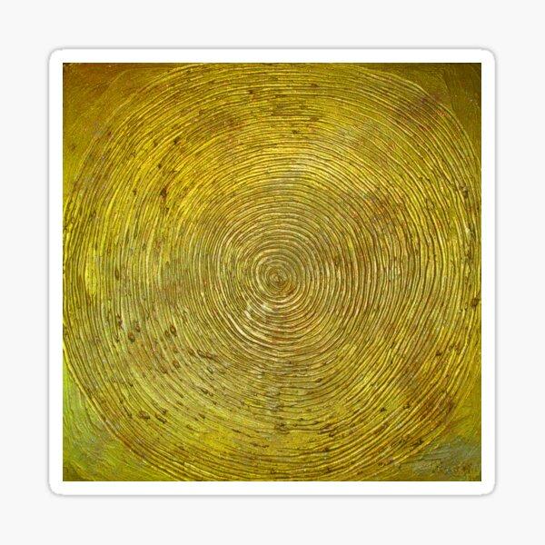 Goldspirale Sticker