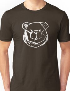 Robust Bear Logo White Unisex T-Shirt