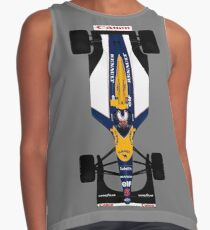 Williams FW14 - Mansell Top view Contrast Tank