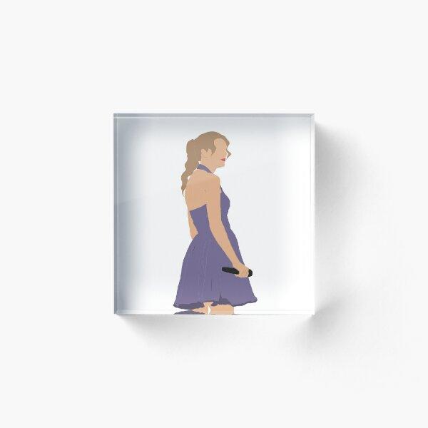 Taylor Swift Speak Now Tour Acrylic Block