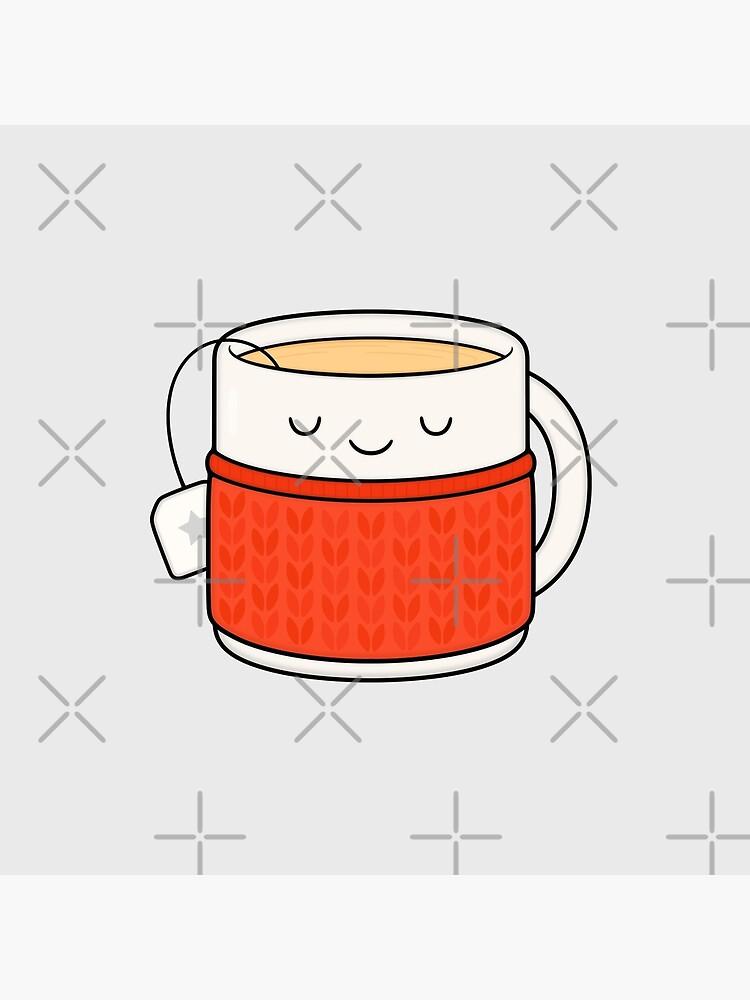 Keep warm, drink tea! by kimvervuurt