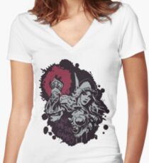 Sylvanas has no time for games Women's Fitted V-Neck T-Shirt