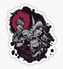 Sylvanas has no time for games Sticker