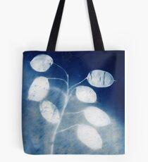 Honesty - Cyanotype Print of Honesty Plant Tote Bag
