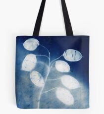 Honesty - Cyanotype Print of Honesty Plant Tote Bag