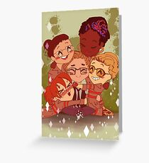 Ghostbusters and Kevin Greeting Card