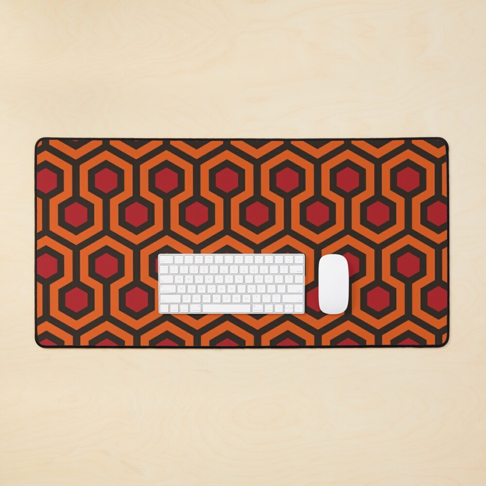 The Shining Pattern Mouse Pad