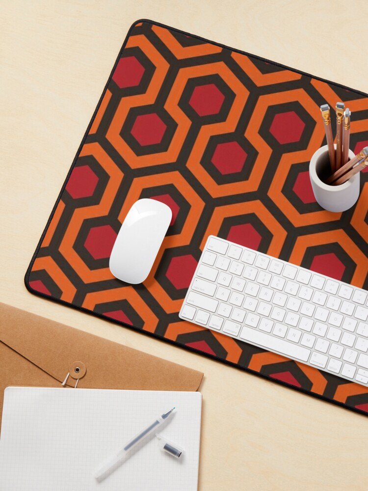 Alternate view of The Shining Pattern Mouse Pad