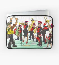 Pegswood Miners Colliery Band - Coloured in Laptop Sleeve