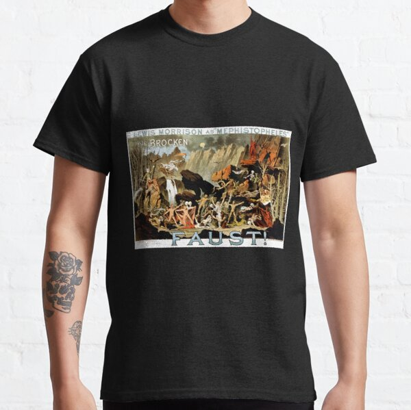 Mephistopheles in Faust! Play Performance Classic T-Shirt