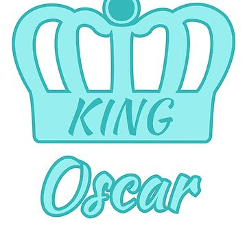 Baby Oscar is the new King in the family by jshek8188