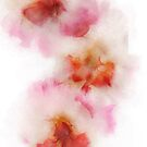Watercolour Gladiolus by Ann Garrett