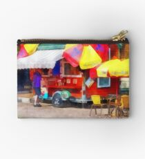 Hot Dog Stand in Mall Studio Pouch