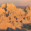 Badlands Sunset by April Koehler