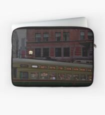 San Francisco rush hour Market Street Muni Laptop Sleeve