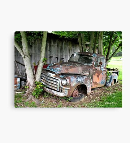 """Old Clunker""... prints and products Canvas Print"