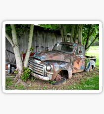 """""""Old Clunker""""... prints and products Sticker"""