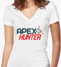 APEX HUNTER (1) Women's Fitted V-Neck T-Shirt