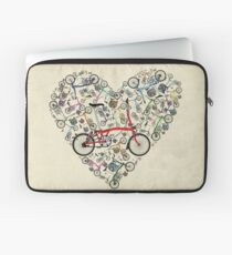I Love Brompton Bikes Laptop Sleeve