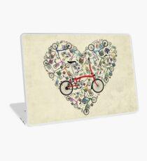 I Love Brompton Bikes Laptop Skin