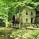 """Rice Grist Mill""... prints and products by Bob Hall©"