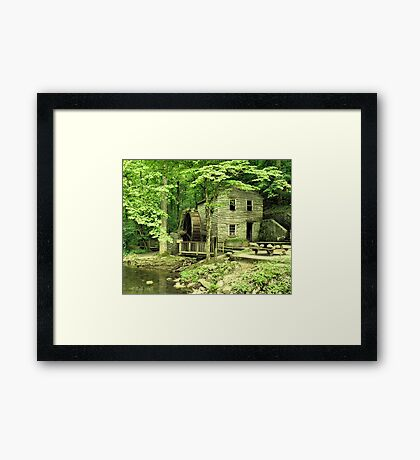 """""""Rice Grist Mill""""... prints and products Framed Print"""
