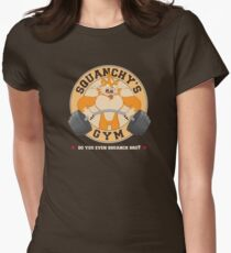 Squanchy's Gym Womens Fitted T-Shirt